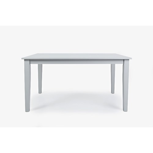 Jofran Simplicity Rectangle Dining Table that Seats 6 Comfortably