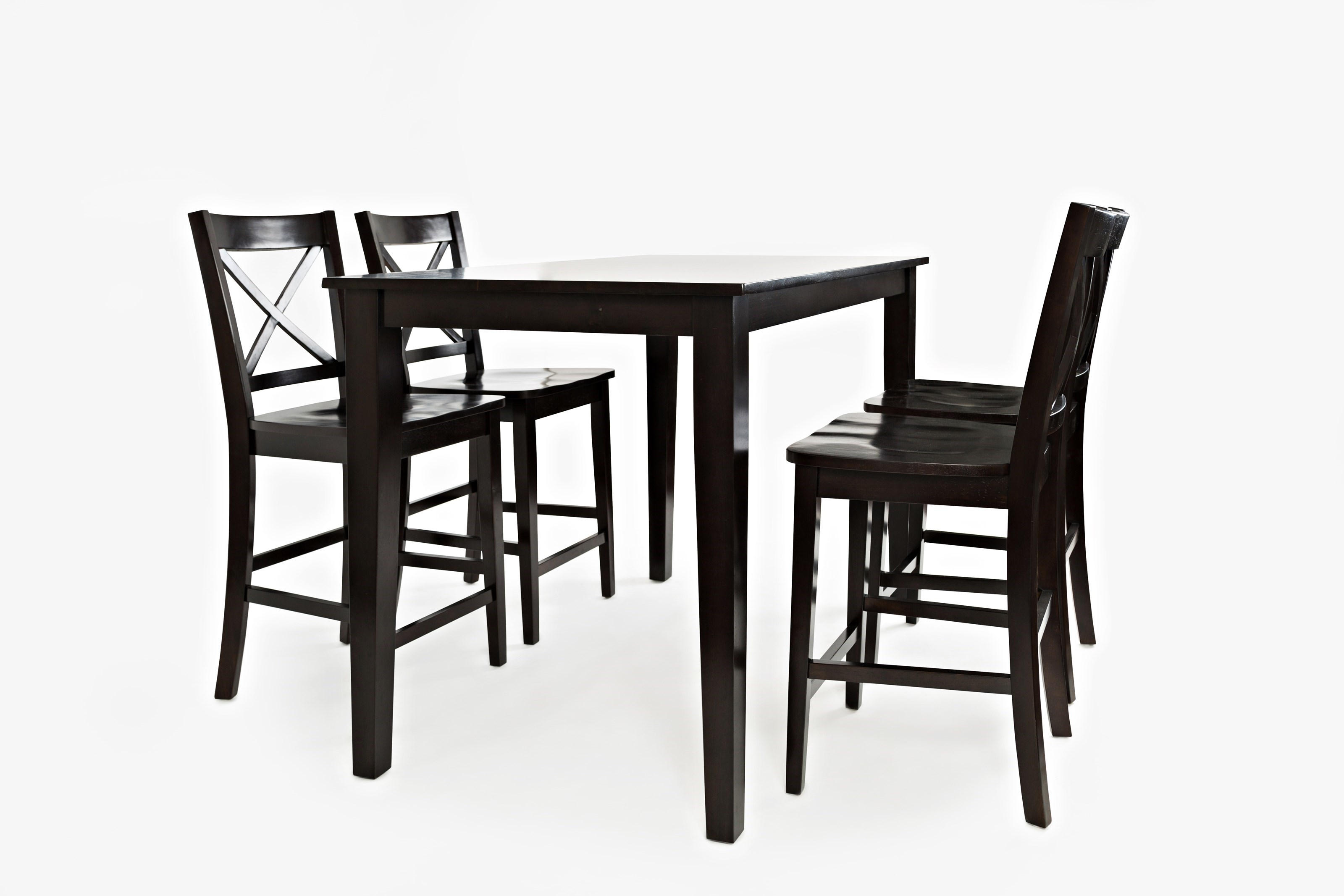 Jofran Simplicity Rectangle Counter-Height Table and Chair Set  sc 1 st  Jofran : high table and stool set - pezcame.com