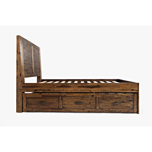 Jofran Sonoma Creek Twin Size Bed with Trundle