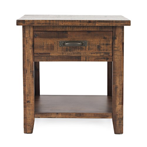 Jofran Sonoma Creek Studio Nightstand