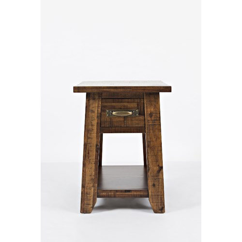 Jofran Sonoma Creek Chairside Table