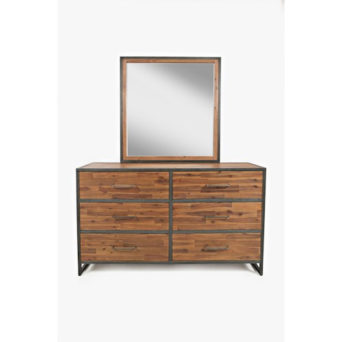 Jofran Studio 16 Dressser and Mirror
