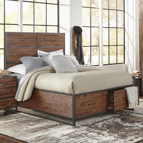 Jofran Studio 16 Queen Size Bed
