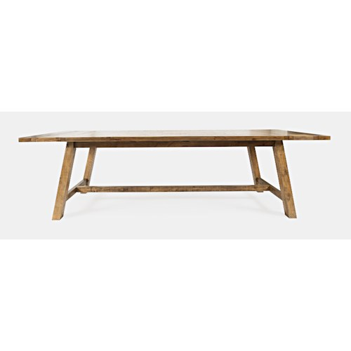Jofran Telluride  Counter Height Trestle Table