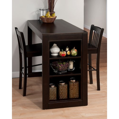Jofran Tribeca Counter Height Table with 2 Chairs