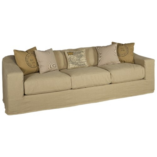 Jonathan Louis Evan Extra Large Estate Sofa With Wide