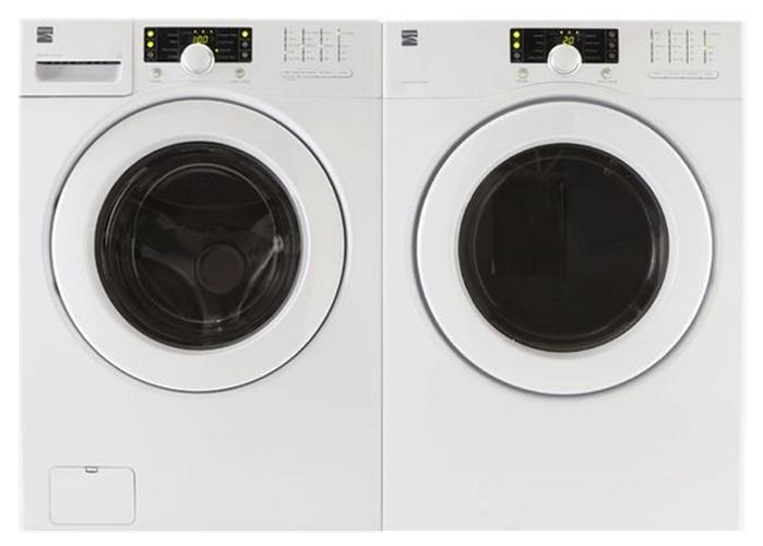 kenmore washer and dryer sets energy star frontload washer and electric dryer set
