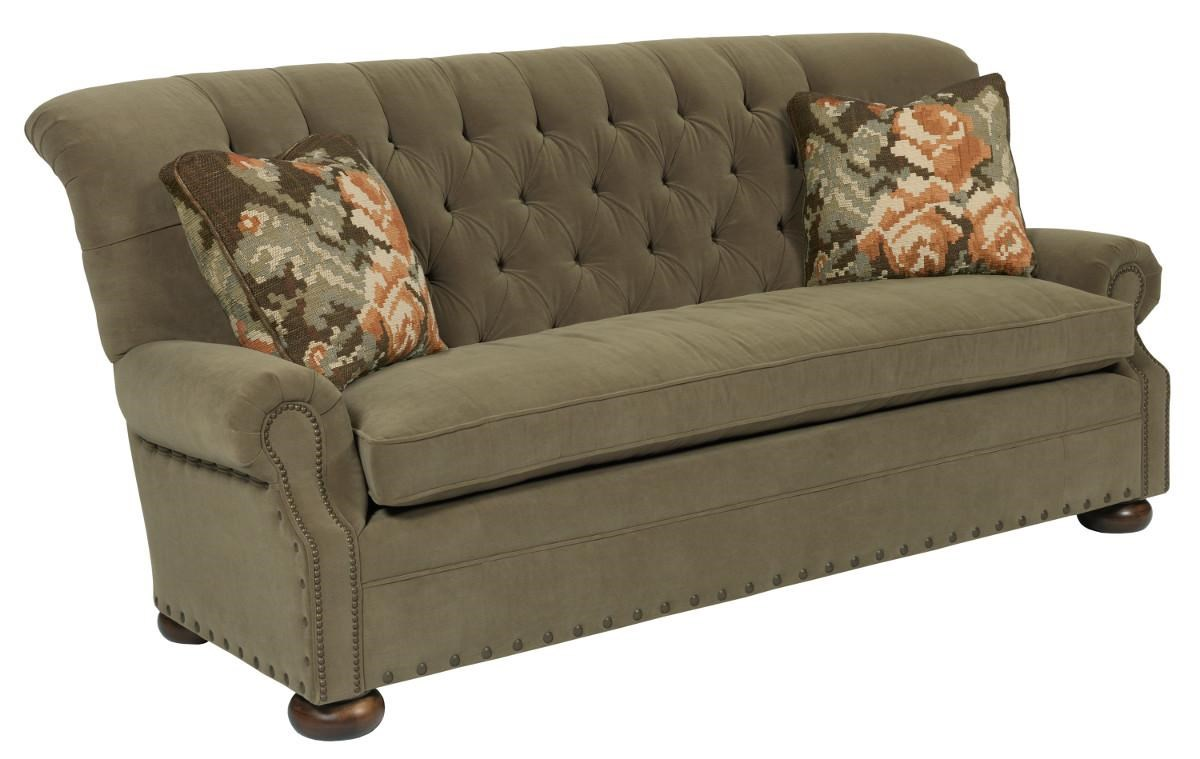 Kincaid Furniture Spencer Traditional 86 Inch Button