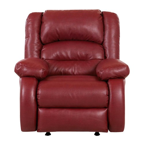 Klaussner Austin Casual Upholstered Wall Recliner