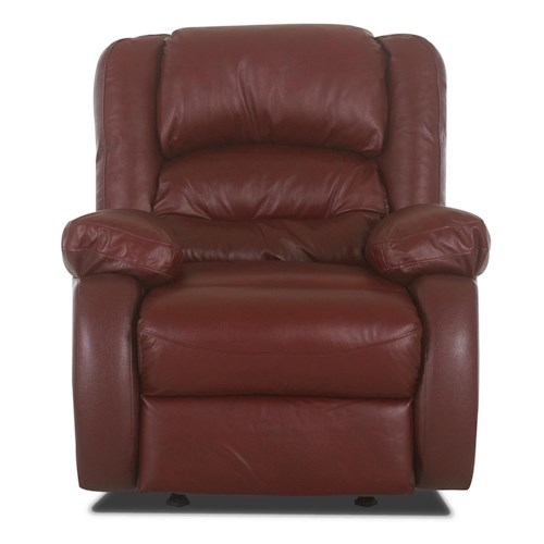 Klaussner Austin Casual Power Upholstered Wall Recliner