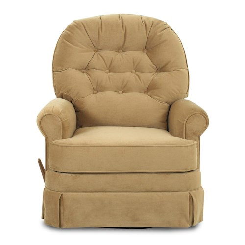 Klaussner Recliners Ferdinand Rocking Reclining Chair