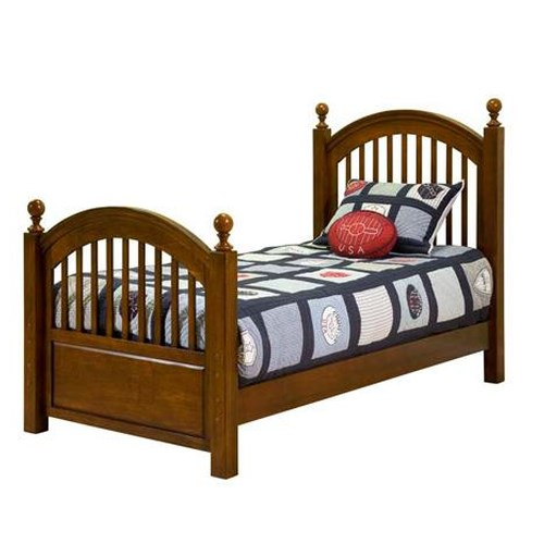 Legacy Classic Kids American Spirit Twin-Size Low Poster Bed