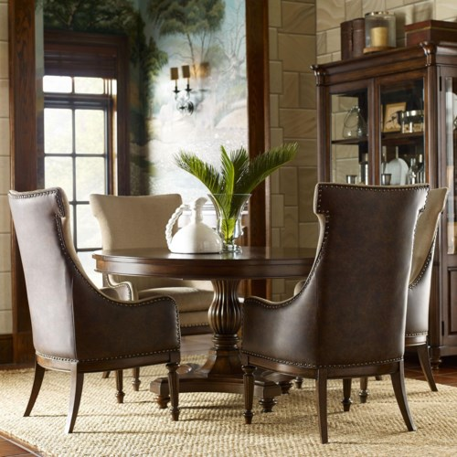 Legacy Classic Barrington Farm 5 Piece Dining Set With Host Chairs Gardiner Wolf Furniture