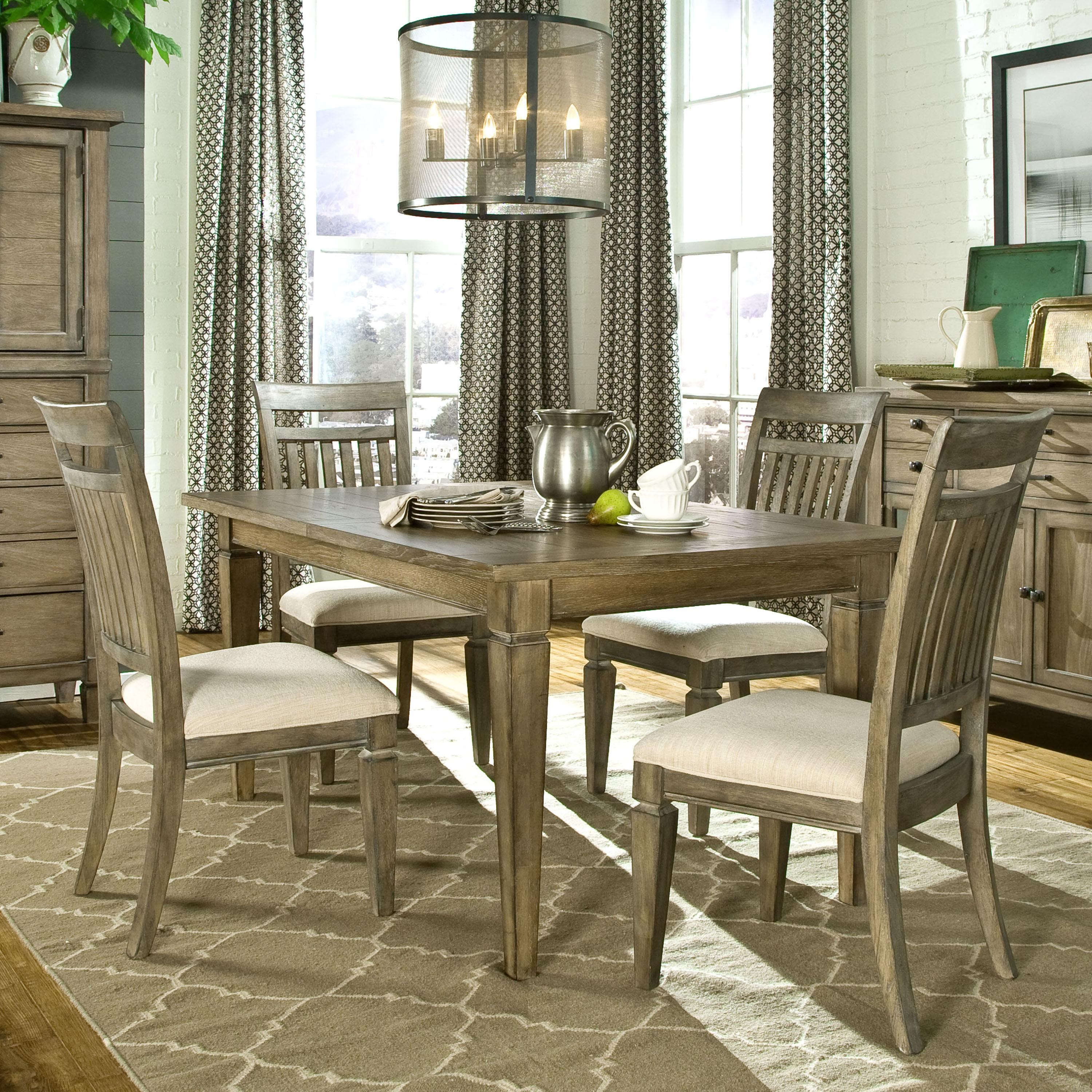 Legacy Classic Brownstone Village 5 Piece Dining Set with  : products2Flegacyclassic2Fcolor2Fbrownstone20village20 208925790802760 1212B4x34020kd b0 from www.furnops.com size 500 x 500 jpeg 81kB