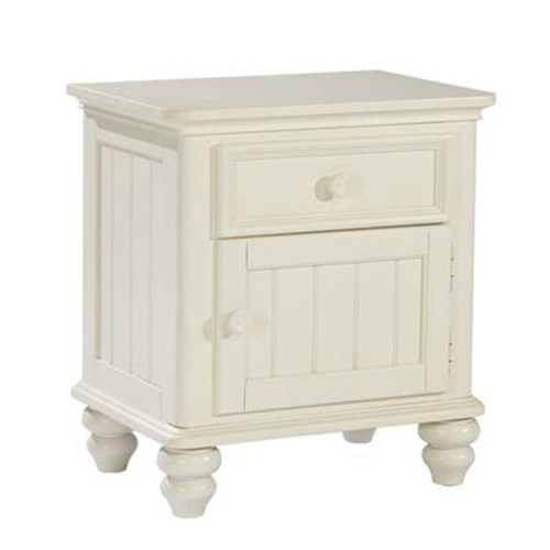 Legacy Classic Kids Summer Breeze Night Stand with 1 Drawer and 1 Door