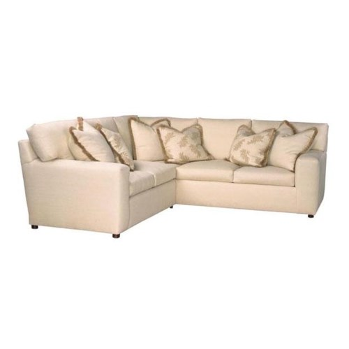 Lexington Personal Design Series Customizable Upholstered Norwood Sectional