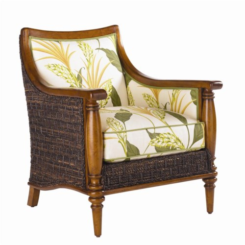 Tommy Bahama Home Island Estate Agave Wicker Chair