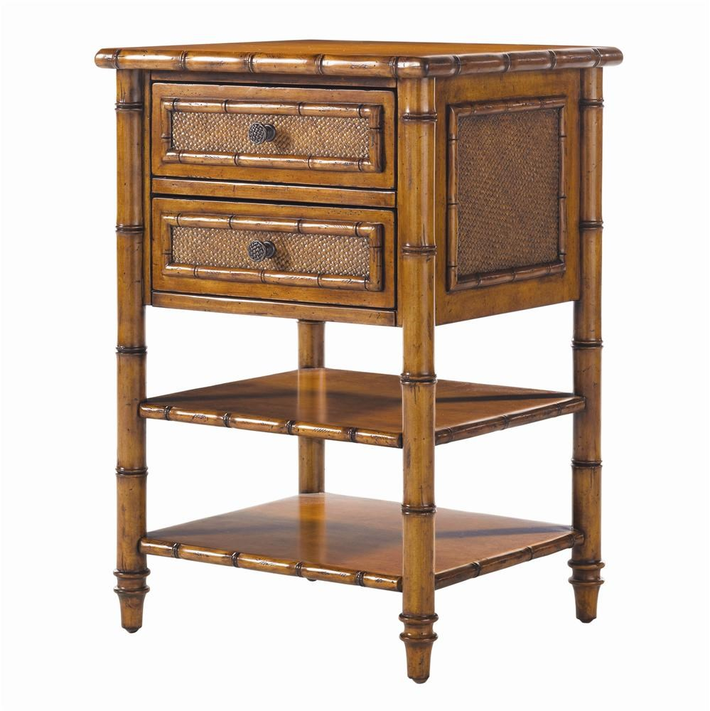Tommy Bahama Home Island Estate 531-622 Ginger Island Bedside Chest : Baeru0026#39;s Furniture : Night ...