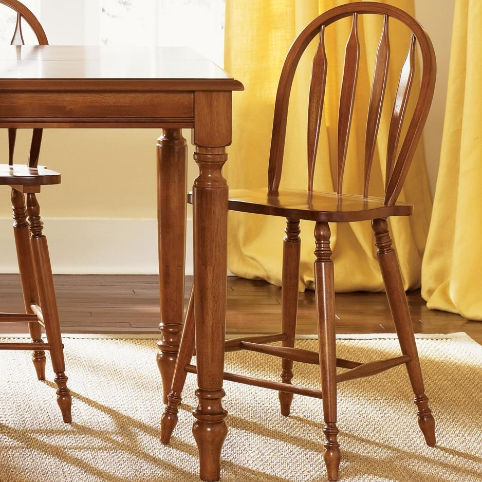 Liberty Furniture Low Country Windsor Bar Stool Fayetteville