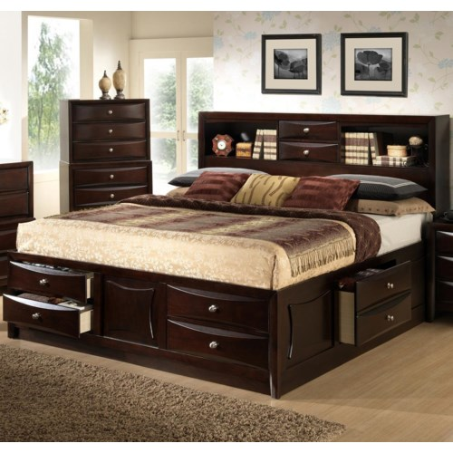 Queen Size Bed With Bookcase Headboard Plans