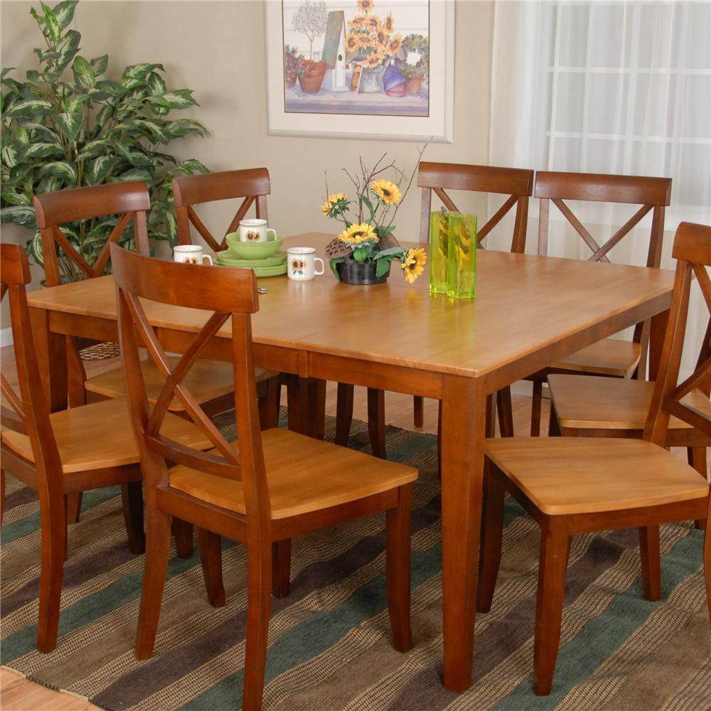 ligo products contemporary casual contemporary leaf dining table