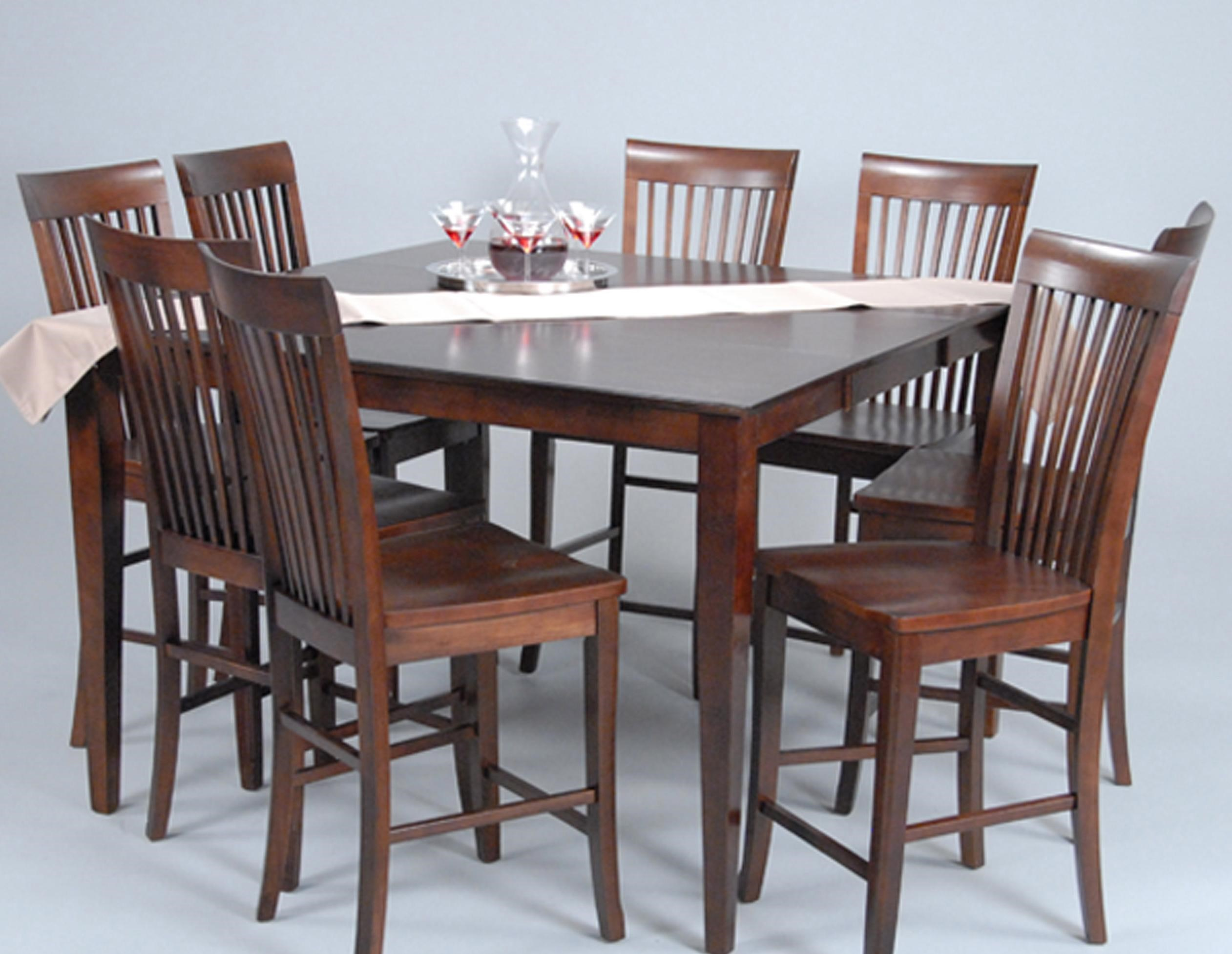 Attractive Ligo Products Contemporary Contemporary Counter Height Table And Stool  Dining Set