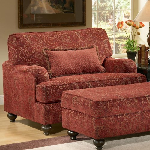 Benchmark Upholstery Carlton Upholstered Chair Amp A Half