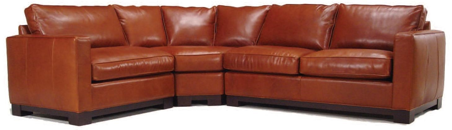 Charming McCreary Modern 0555 Contemporary Sectional Sofa