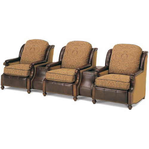 MotionCraft by Sherrill Home Theater Seating 207 Series Home Theater Seating
