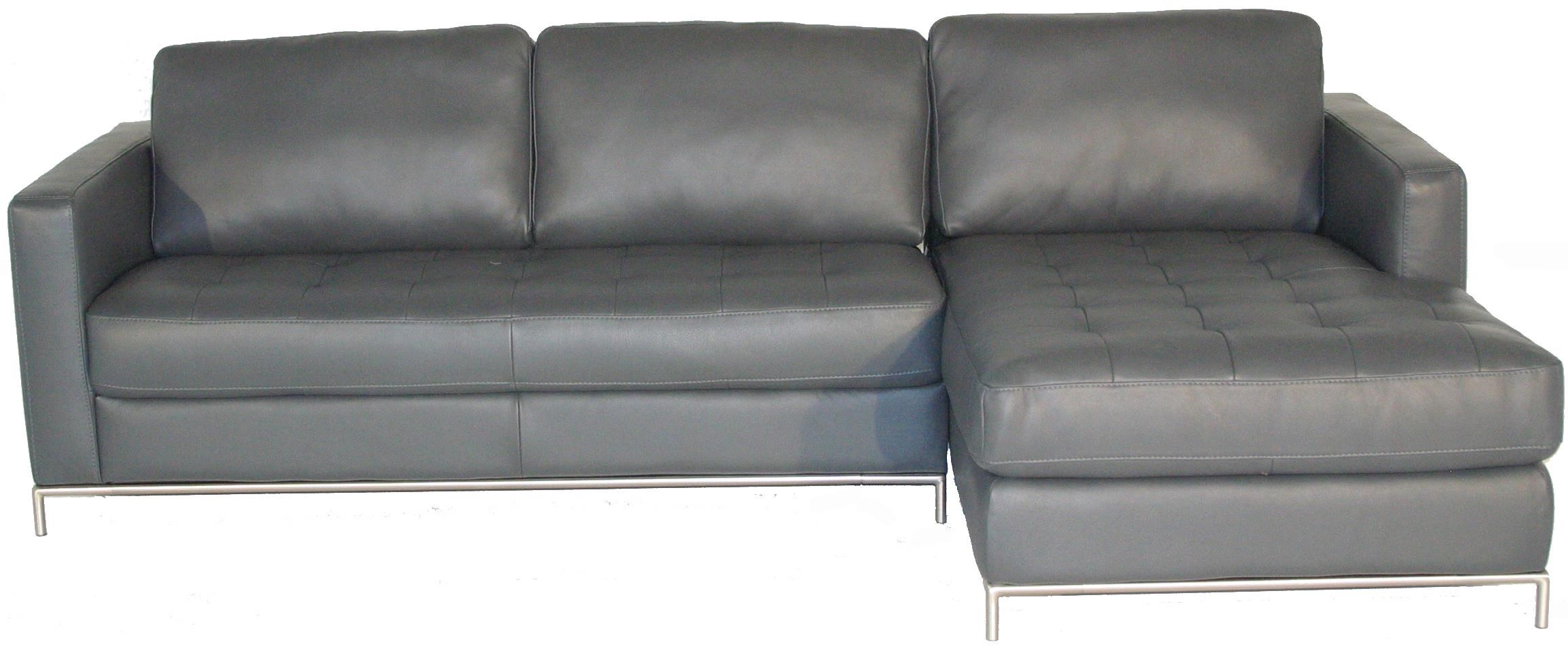 Natuzzi Editions B805 Right Arm Facing Sofa Chaise With