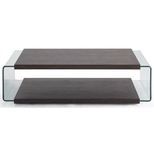 Natuzzi Editions Cisternino Rectangular Coffee Table With Glass Sides Becker Furniture World