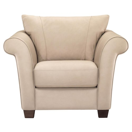 Italsofa I164 Contemporary Leather Recliner