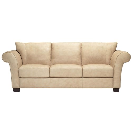 Italsofa I164 Cozy Contemporary Leather Sleeper Sofa