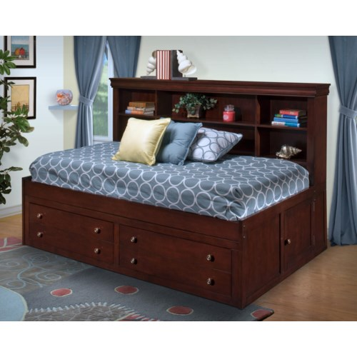 New Classic Versailles  Twin Lounge Captain's Bed