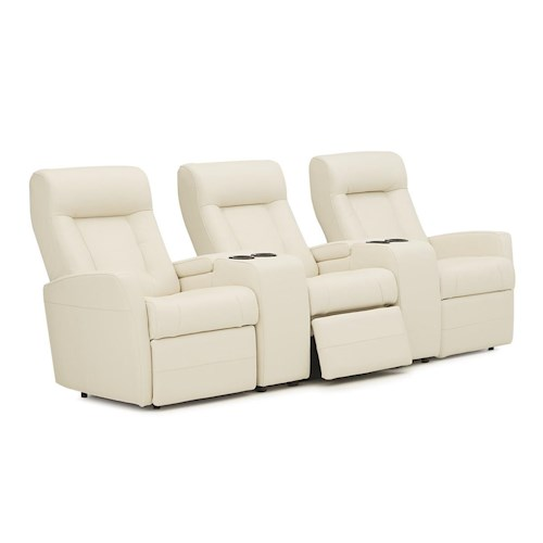 Palliser Banff II Contemporary Sectional Theater Seating