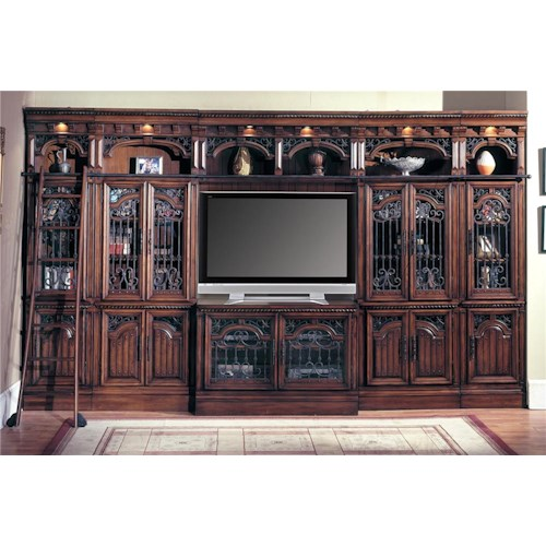 Parker House Barcelona Large Entertainment Wall System - Los Angeles ...