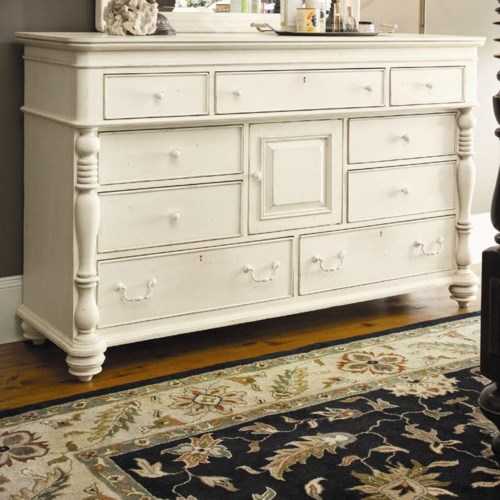 Paula Deen by Universal Paula Deen Home Door Dresser with 9 Drawers