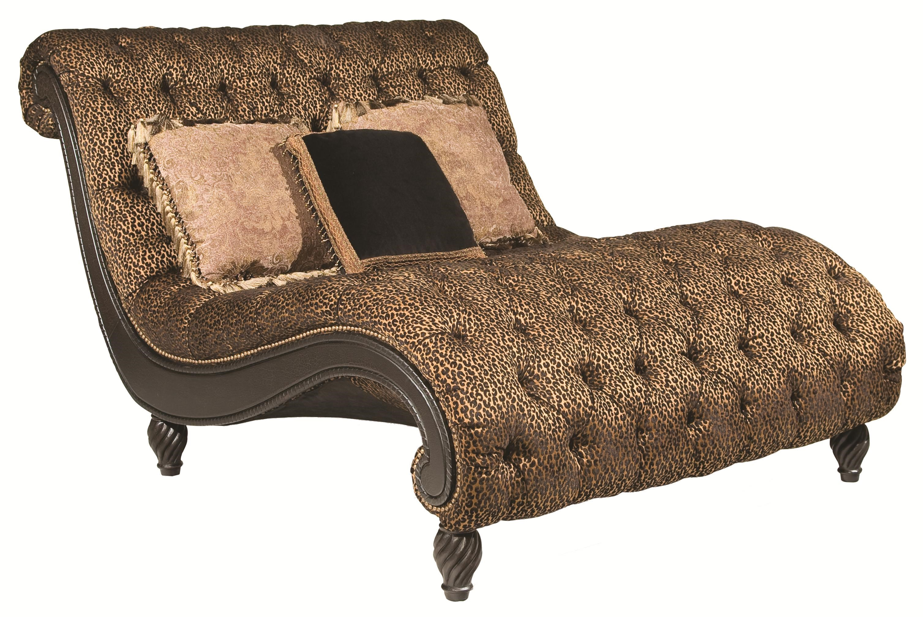 Delicieux Rachlin Classics Dinah Decorative Dinah Chaise With Exotic Furniture Appeal
