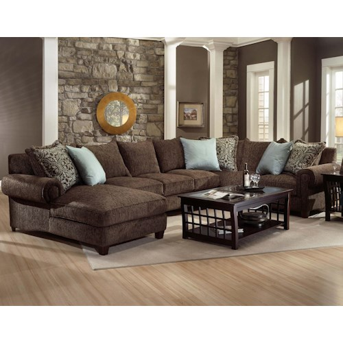 Robert Michael Rocky Mountain Chaise and Sofa Sectional ...