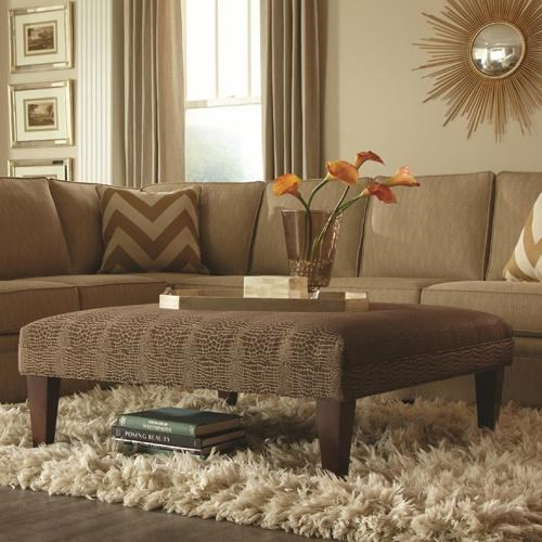 Rowe Chairs and Accents Griffin Upholstered Ottoman