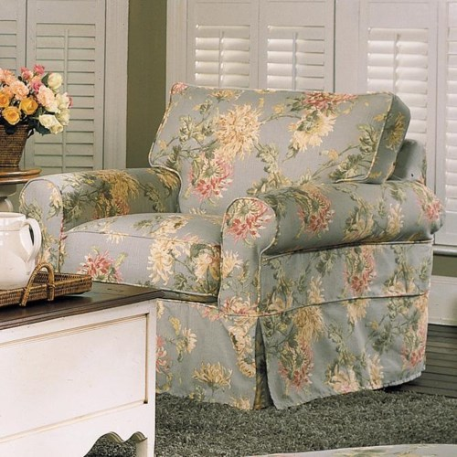 Rowe Nantucket A911 000 Upholstered Chair Baer S