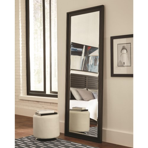 matheson living furniture full fine scott floor item length coaster products mirror