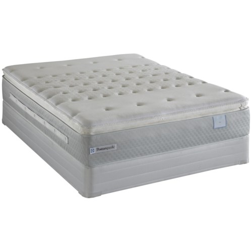 Sealy Posturepedic Pentathlon King Firm Euro Pillow Top Mattress