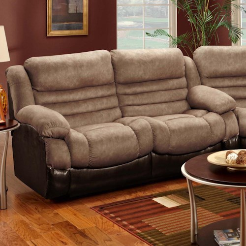 Seminole Furniture 6250  Double Reclining Two Seat Sofa for Comfortable Family Room Living