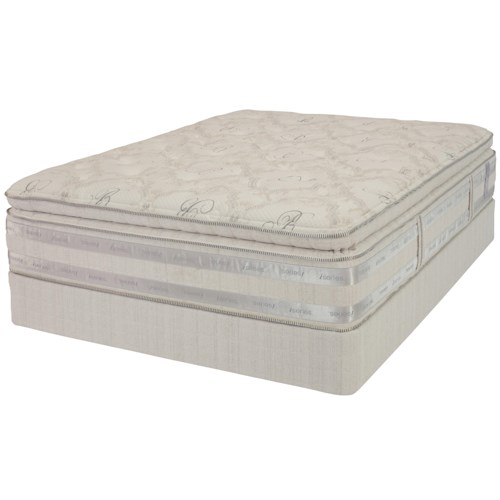 Serta Bellagio Iseries Rilante Queen Super Pillow Top Mattress And Box Spring