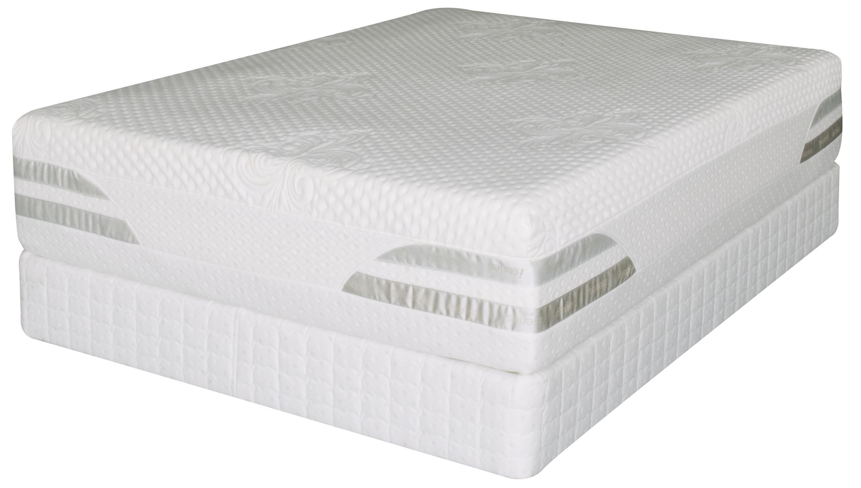 Serta Trump Home ISeries Valena Full Zippered Cover Mattress