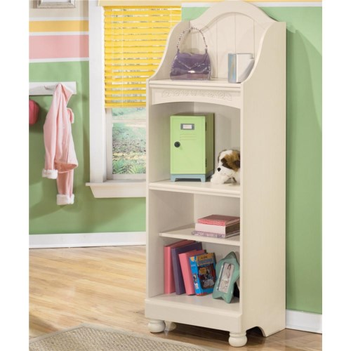 Signature Design by Ashley Furniture Cottage Retreat 4 Shelf Bookcase