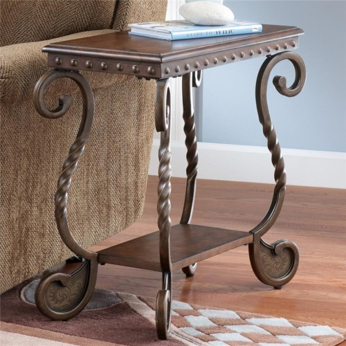 Signature Design By Ashley Rafferty Chairside End Table