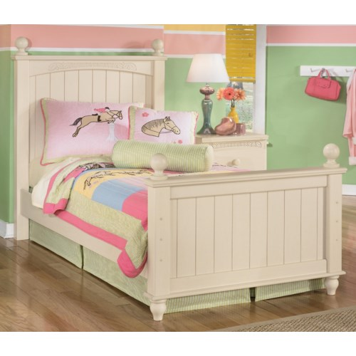 Ashley (Signature Design) Cottage Retreat Twin Poster Bed