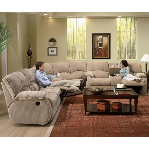 Southern Motion Continental 792 Reclining Sectional